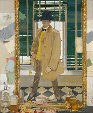 "William Orphen ""Self-Portrait"" (1910), Oil on Canvas"